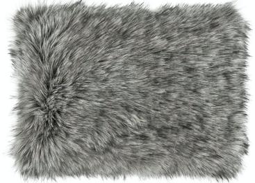 Faux fur pillow GRANDE PINI brown 40x50 cm