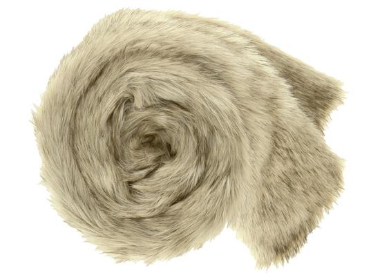 Koc, narzuta GRANDE PINI beżowy 155x200 cm