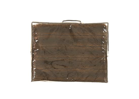 Koc, narzuta ROMANTYCZNA BRUNETKA brązowy 155x200 cm