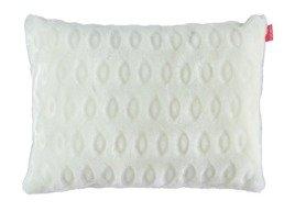 Decorative faux fur pillow CIRCLES