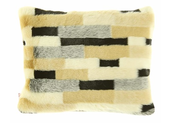 Decorative faux fur set EGYPTIAN BEAUTY