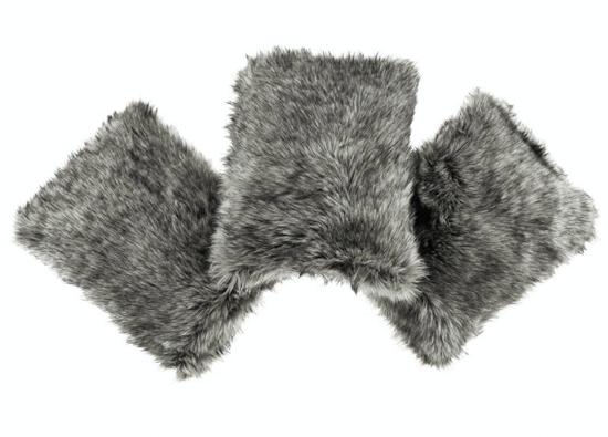 Decorative faux fur set GRANDE PINI