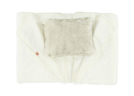 Decorative faux fur bedspread ANGELO