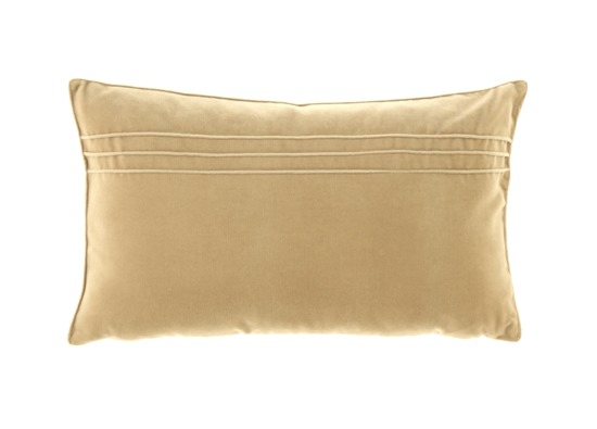 VELVET PILLOW beige 30x50 cm
