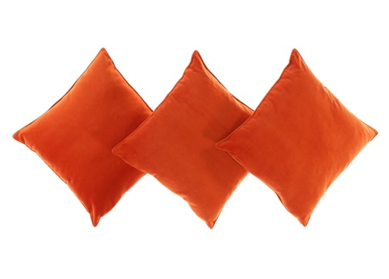 Decorative velvet pillow ROMEO