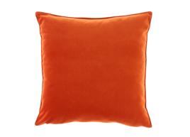 Poduszka Pomarańczowa dekoracyjna z aksamitu ROMEO