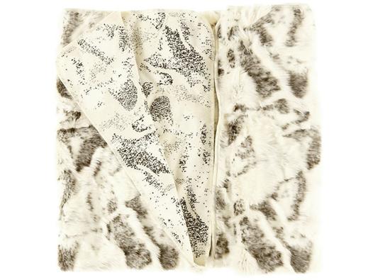 Komplet dekoracyjny futrzany KOZA