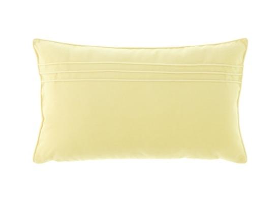 Poduszka Ecru dekoracyjna z aksamitu JULIA