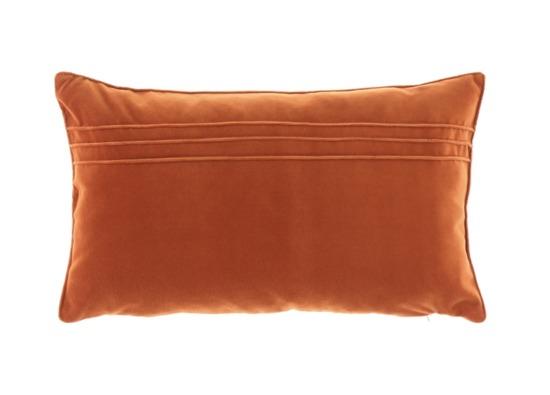 Poduszka z aksamitu JULIA rudy 30x50 cm